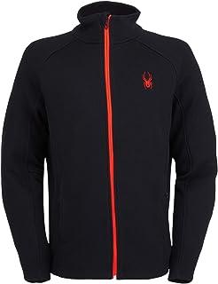 Active Sports Men's Constant Full Zip Mid-Weight Mock Neck Sweater