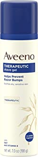 Aveeno Therapeutic Shave Gel, Fragrance Free, 7 Oz
