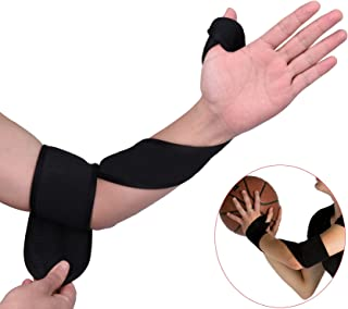 Ueasy Wrap Strap Basketball Shooting Aid Correct Bad Posture and Improves Accuracy Stops Rotation of The Wrist to Prevent Off Hand Interference Training