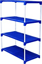 !! INAUGARAL Offer Savya home® Multipurpose Rack 4 Shelves Book Shelf Shoe Rack (4 Shelf)