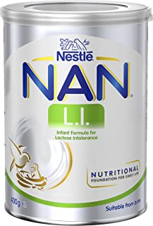 NESTLÉ NAN L.I. Baby Formula for Babies with Lactose Intolerance – 400g