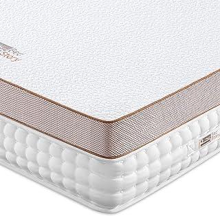 BedStory 5 cm Gel Memory Foam Topper 160 x 200 colchón de espuma viscoelástica para cama incómoda