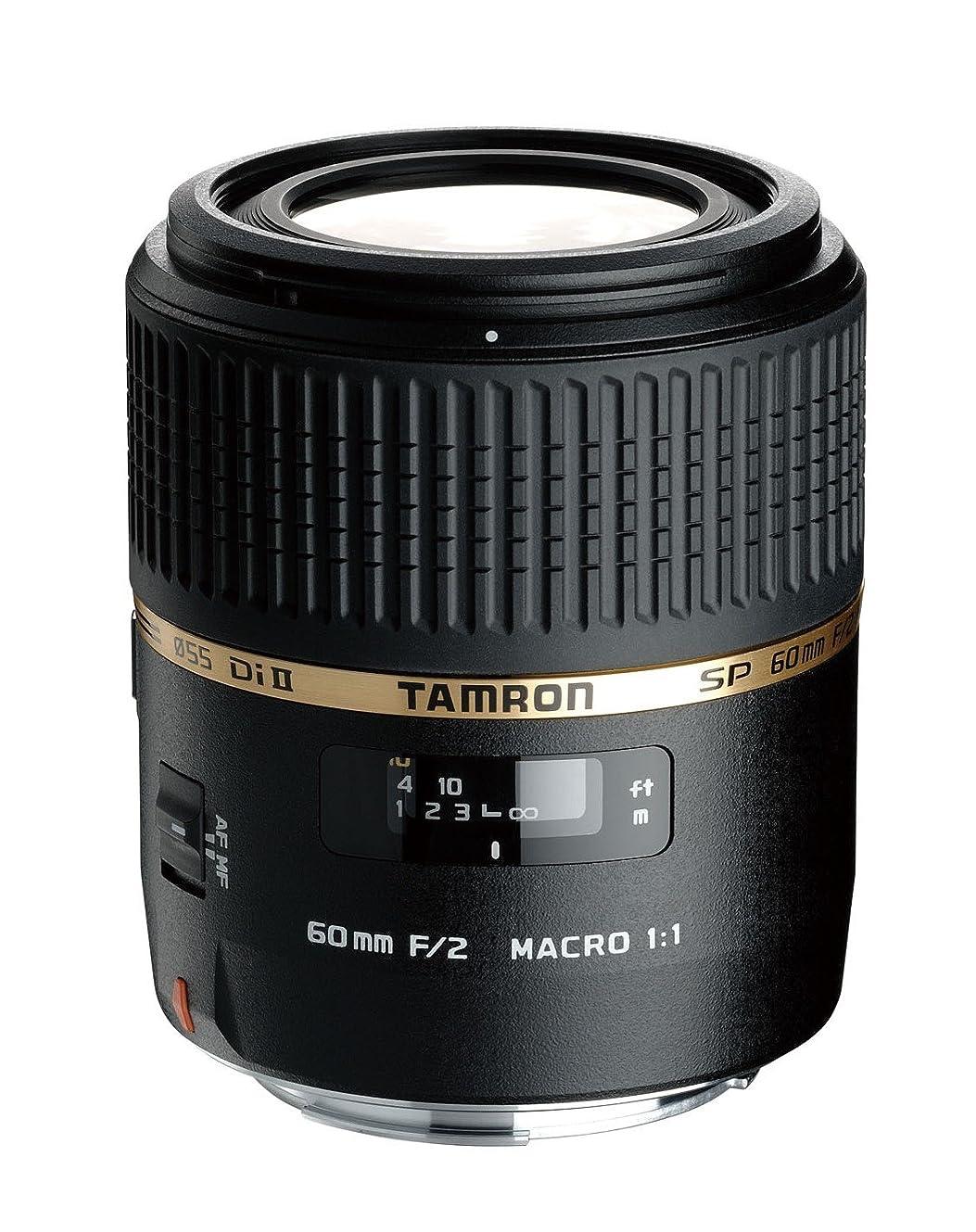 撤退手綱教育学TAMRON 単焦点マクロレンズ SP AF60mm F2 DiII MACRO 1:1 ニコン用 APS-C専用 G005NII