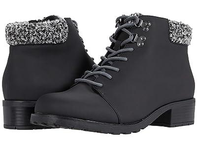 Trotters Becky 2.0 (Black Veg Calf Leather) Women