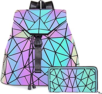 Obvie HotOne Luminous Geometric Fashion Backpack