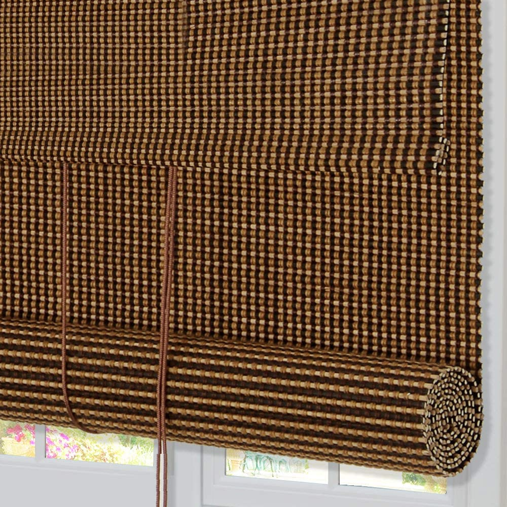 Sales Lowest price challenge ZY Blinds Bamboo LightFilteringRollUp WoodWin Window