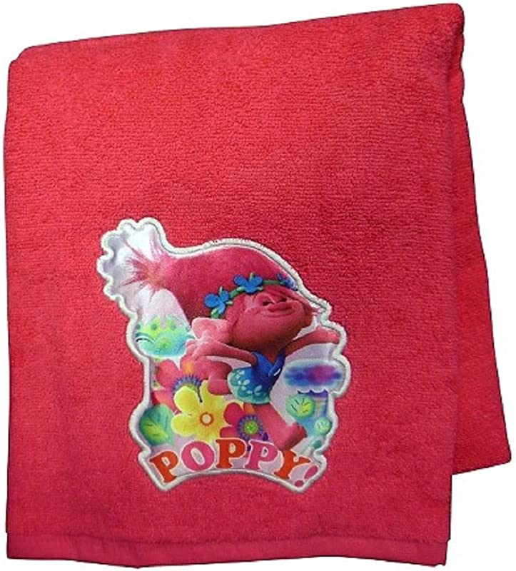 DreamWorks Trolls Poppy Bath Towel