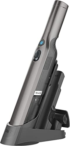 Shark WV201 WANDVAC Handheld Vacuum, Lightweight at 1.4 Pounds with Powerful Suction, Charging Dock, Single Touch Emp...