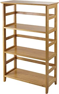Winsome Wood 99342 Studio Shelving, Honey