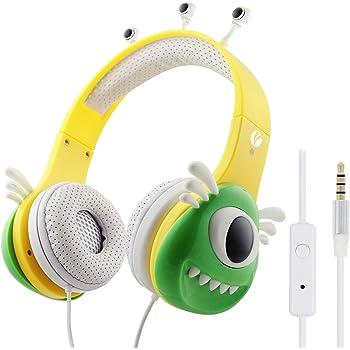 VCOM Auriculares para niños, 92dB limitación del Volumen ...