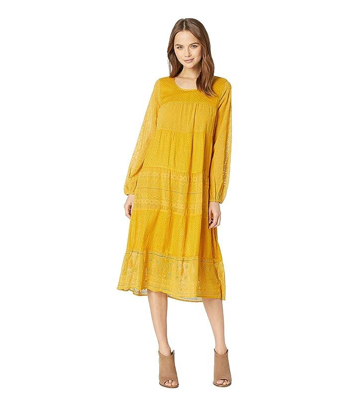 70s Dresses – Disco Dress, Hippie Dress, Wrap Dress Free People Gemma Midi Dress Mustard Womens Dress $159.60 AT vintagedancer.com