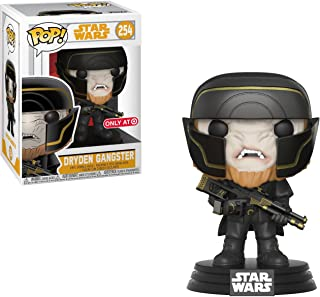 Funko Dryden Gangster (Target Exclusive): Solo - A Star Wars Story x POP! Vinyl Figure + 1 Official Star Wars Trading Card Bundle [#254 / 26987]