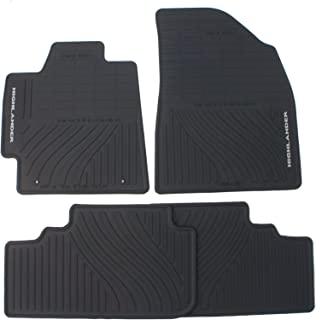 Genuine Toyota Accessories PT908-48G00-02 Front and Rear All-Weather Floor Mat - (Black), Set of 4