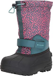 Youth Powderbug Forty Print Snow Boot, Waterproof, Insulated