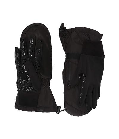 Dakine Leather Titan Gore-Tex Mitt Gloves (Black) Extreme Cold Weather Gloves