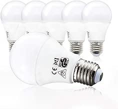 B.K.Licht LED Glühbirne | Ersetzt 100w Halogen | 5er Set E27 | A60 Leuchtmittel | 9 Watt | 806 Lumen | 2700 Kelvin