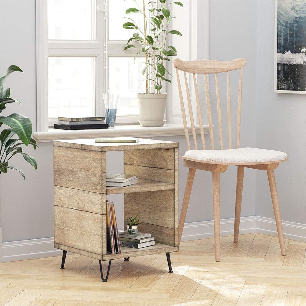 Tisch WINSOON 4x Haarnadel Tischbeine Baustahloptik Tischf/ü/ße 2 Stangen 10cm Tischkufen M/öbelf/ü/ße M/öbelbein f/ür Schrank Esstisch Schreibtisch mit Bodenshoner und Schrauben