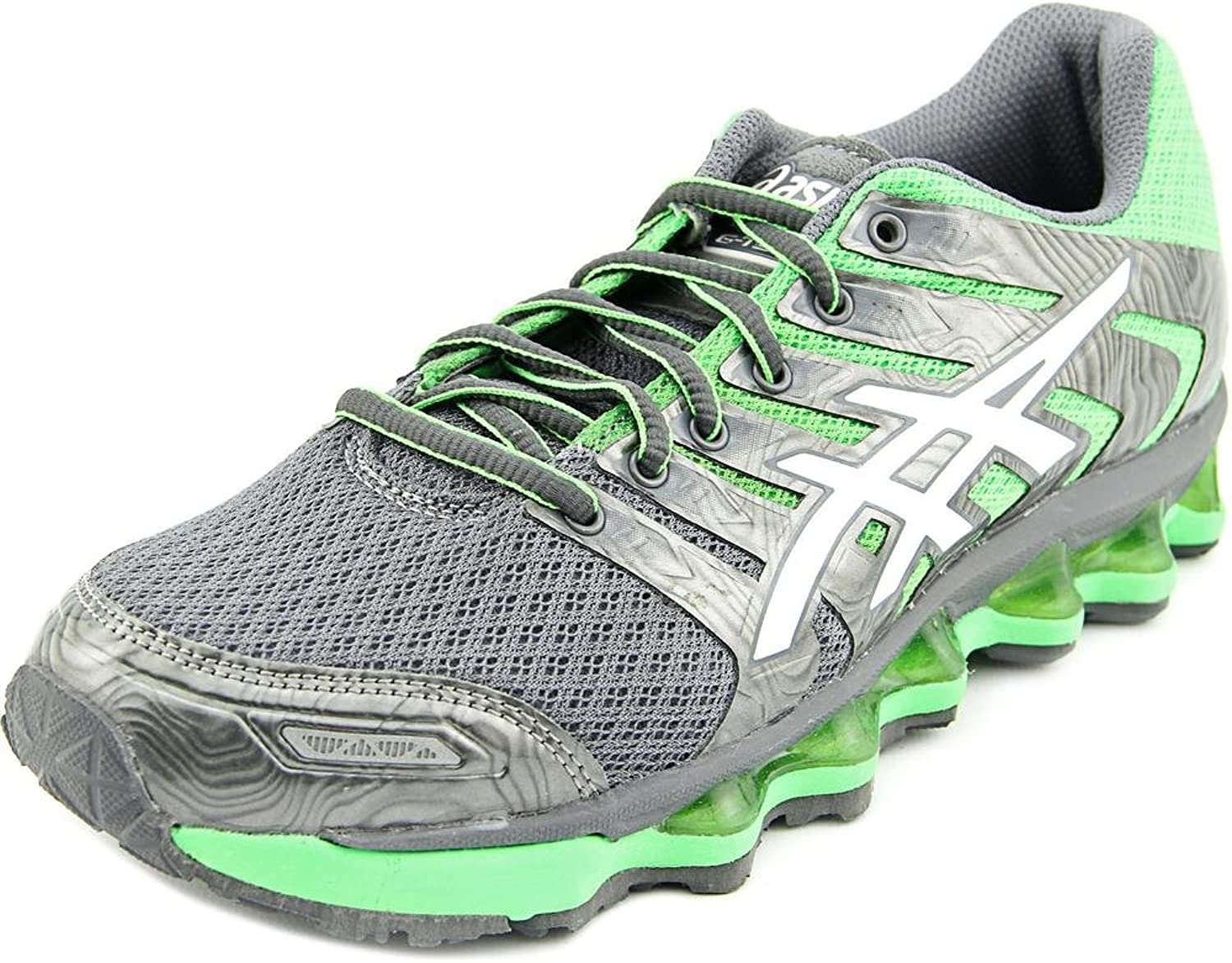 ASICS Womens T2g8n Fabric Low Top Lace Up Running Sneaker