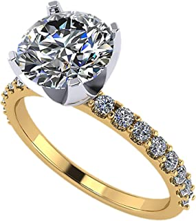Best yellow gold solitaire Reviews