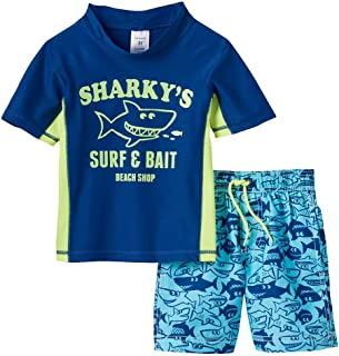 Carter's Baby Boys' Mr. Independent Rashguard Swim Set