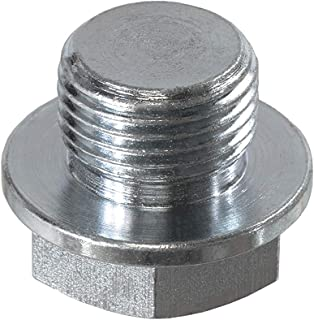 PitVisit O2 Sensor Bung Plug M18 x 1.5 Oxygen Wideband Sensor Bung Plug with 22mm Hex Head fits Bosch Type Lambda Sensor and Standard Bung Universal Fit (1 Pack)