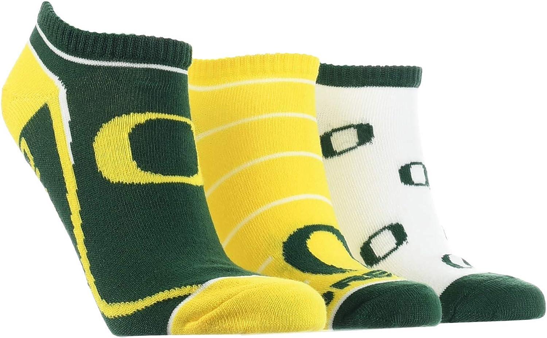 TCK Oregon Ducks No Show 3 New product!! Field Full Socks Great interest Pack