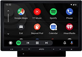 ATOTO F7 Car Stereo Receiver,CarPlay & Android Auto Receiver with Bluetooth, Phone Mirroring (Auto Link),Phone Charge,USB/...