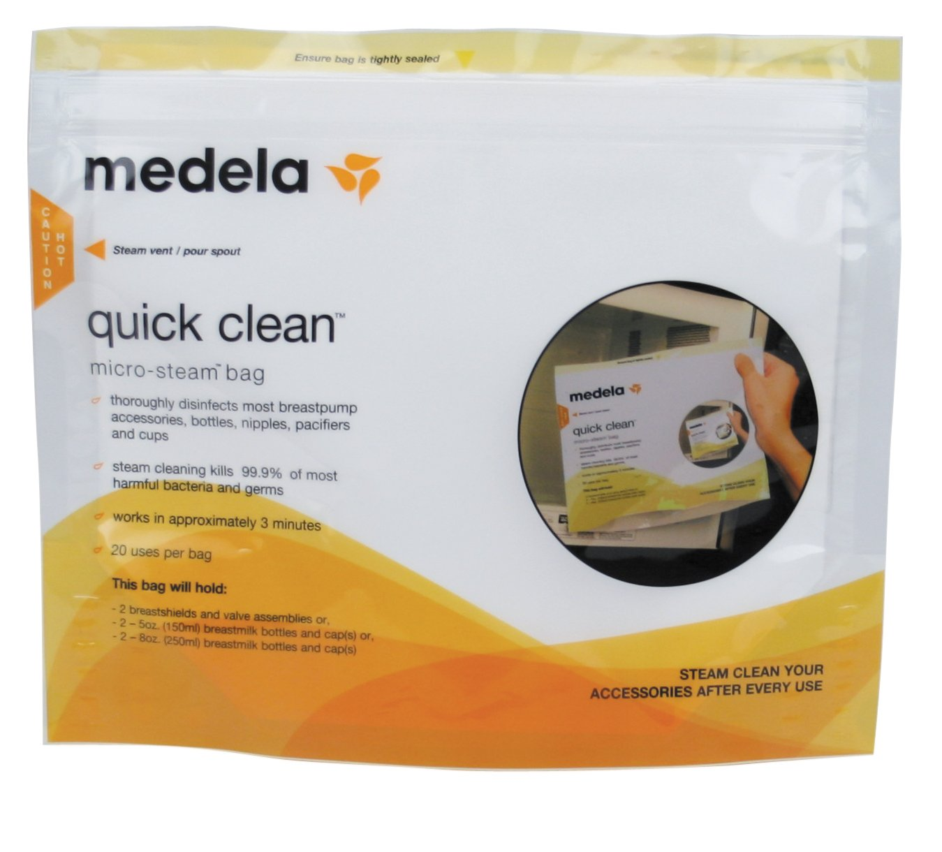 Medela Breast Pump Accessory Set, Value Pack Includes Breastmilk Bottles, Breast Shields and More, Authentic Medela Spare Parts Made Without BPA