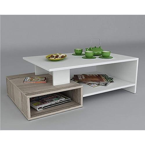 Tavolo Da Salotto Moderno.Tavolino Da Salotto Moderno Design Amazon It