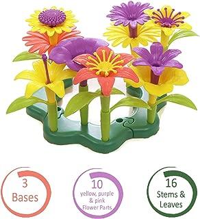 Play 2 Grow Flower Arrangement Garden Playset - Floral Building Toy for Kids