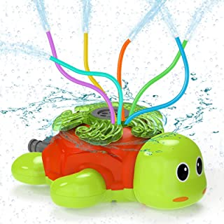 Outdoor Water Spray Sprinkler for Kids Turtle Yard Water Toy Sprinkler Toy Sprinkler Children Outdoor Lawn Sprinkler Toy S...