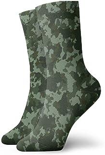 Jhonangel, Equipo de calcetines de camuflaje militar o de caza para hombres, mujeres, niños, trekking, rendimiento, exteriores 30 cm / 11.8 pulgadas