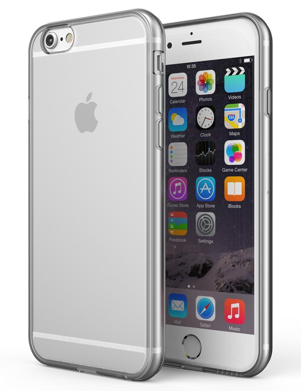 iphone 6s case silicone clear