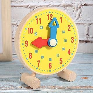 Clock Model Toy, Wooden Kindergarten Toy for Children