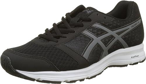 Ascis Patriot 9 Chaussures de Running, Homme, noir,