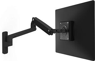 エルゴトロン MXV ウォールモニターアーム マットブラック 34インチ(3.2~9.1kg)まで対応 45-505-224