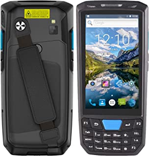 Adaskala Android 8.1 PDA Handheld POS Terminal 1D Barcode Scanner Data Collector Inventory Machine 4G WiFi BT Mobile Compu...