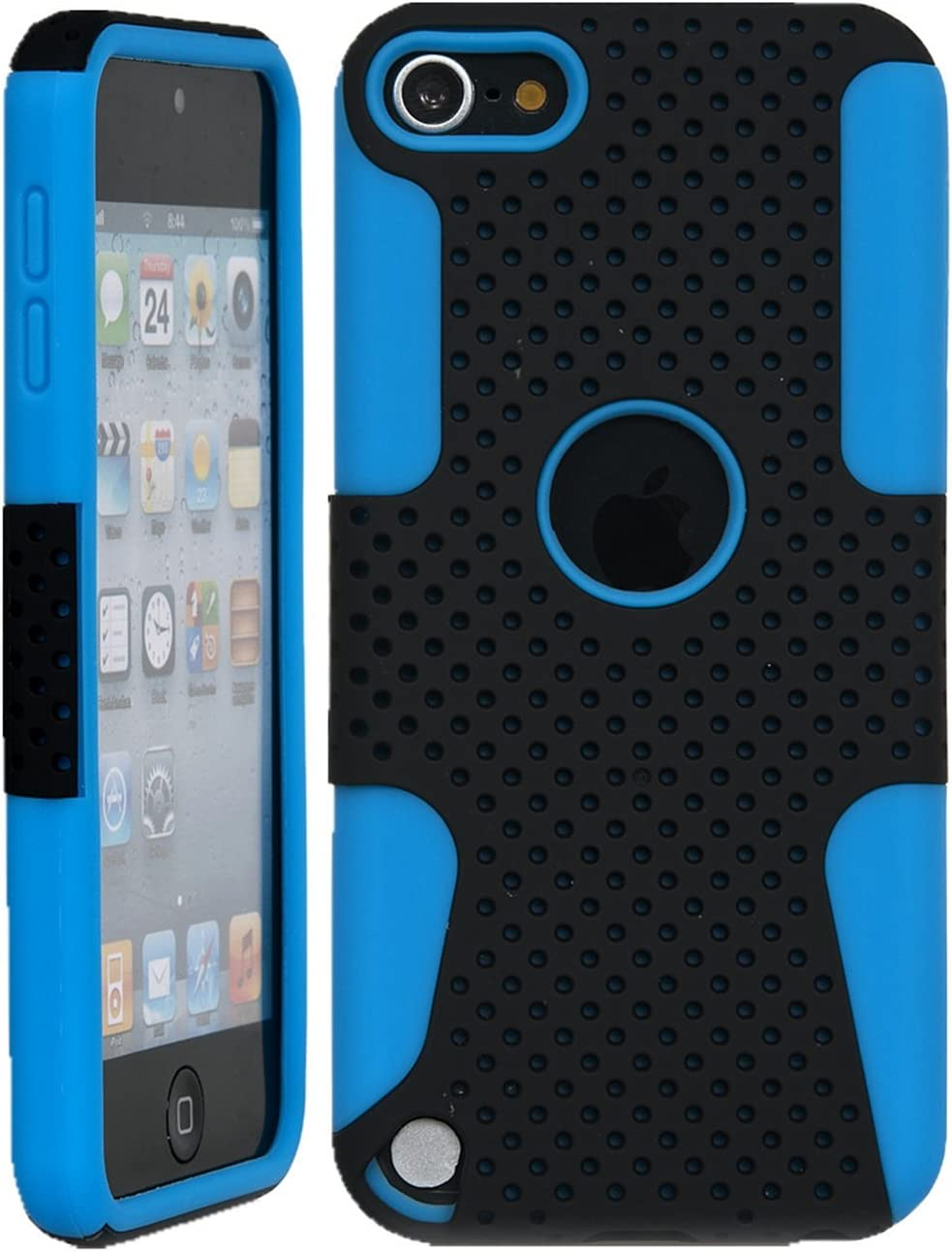 iPod Touch Dual-Layer Heavy OFFicial site Duty Matte Many popular brands Ru Slim Ultra Perforated