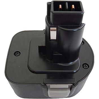 REMS 571510/571510/R12/571513 ELU EZWA49/EZWA57/EZWA60/EZWA61 2/X ad alte prestazioni strumento batteria Ni-MH 12/V 3300/mAh sostituisce Black /& Decker PS130/CD FS FSL HP MT PS A9252/A9275/A9266