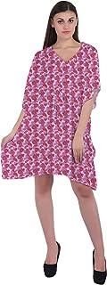 RADANYA Paisley Women's Cotton Kaftans Beachwear Bikini Cover Up Dress Caftan