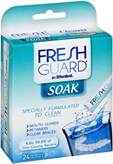 Efferdent Fresh Guard Crystals, 24 count