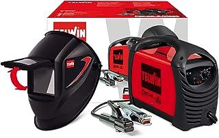 Telwin 815861 FORCE 125- Soldador inverter con electrodo MMA, 10 - 80 A, 230 V, 3,53 kg