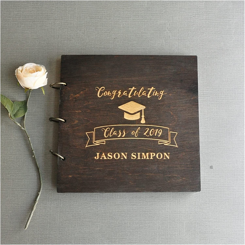 Max 90% OFF HUMINGG Wedding Guest Book Personalized Max 78% OFF G Album Photo Graduation