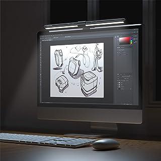 Lampara Monitor Ordenador 52cm,GlobaLink Lampara Escritorio LED,Lampara Lectura Luz Monitor PC con Botones Táctiles,Alimen...