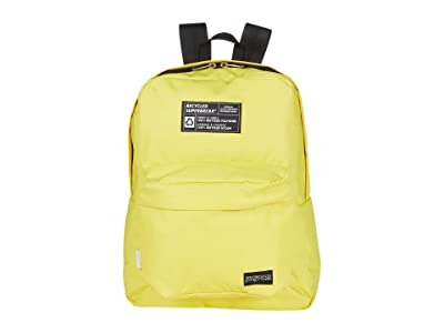 JanSport Recycled Superbreak(r) (Yellow Card) Backpack Bags
