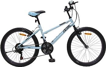 Amigo Power Mountainbike voor meisjes, 26 inch, Shimano 18 versnellingen, geschikt vanaf 150 cm, met handrem en fietsstand...