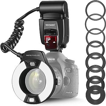JJC LED-60 Makro LED Ringleuchte Macro Ringleuchte Videoleuchte f Kamera u DSLR