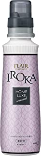 フレアフレグランス 柔軟剤 IROKA(イロカ) HomeLuxe(ホームリュクス) パウダリーピオニーの香り 本体 570ml