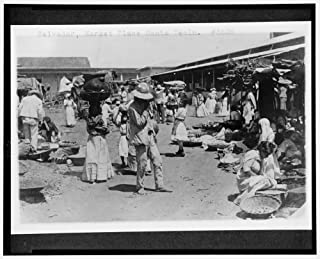 1909 Photo Salvador, Market Place Santa Tecla Location: El Salvador, Nueva San Salvador
