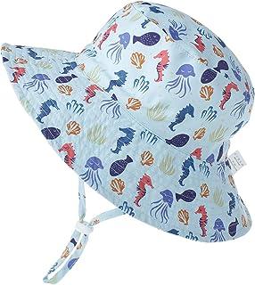 LACOFIA Sombrero de Sol para bebé niño Ajustable Gorro Verano de Pescador para niños ala Ancha para Exteriores/natación/Pl...